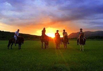 Sunset Horseback Riding-Dubrovnik Countryside