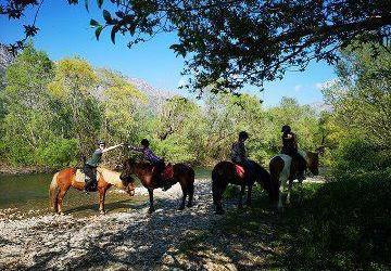 Konavle Horseback Riding to the Ljuta River